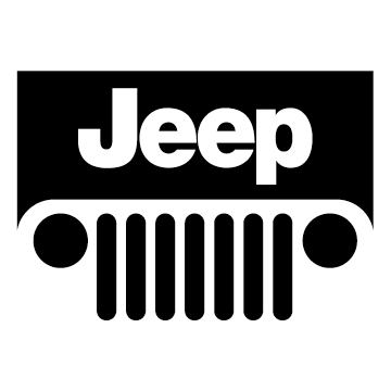 6 Jeep With Grille Logo Decal Liwrap Com